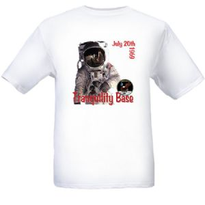 NASA Apollo 11 'Tranquility Base' T-shirt - (L) Large size
